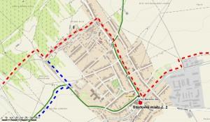 PSV 2013 - Změna průběhu trasy v Dolních Bojanovicích