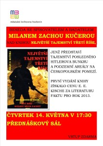 Beseda nad knihou Milan Zacha Kučera