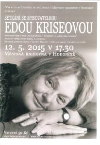 Setkání se spisovatelkou Edou Kriseovou