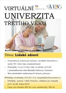 Virtuální univerzita - jarní část 2015