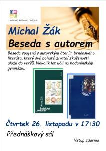 beseda Michal Žák