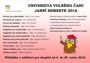 UVČ - JARO 2016