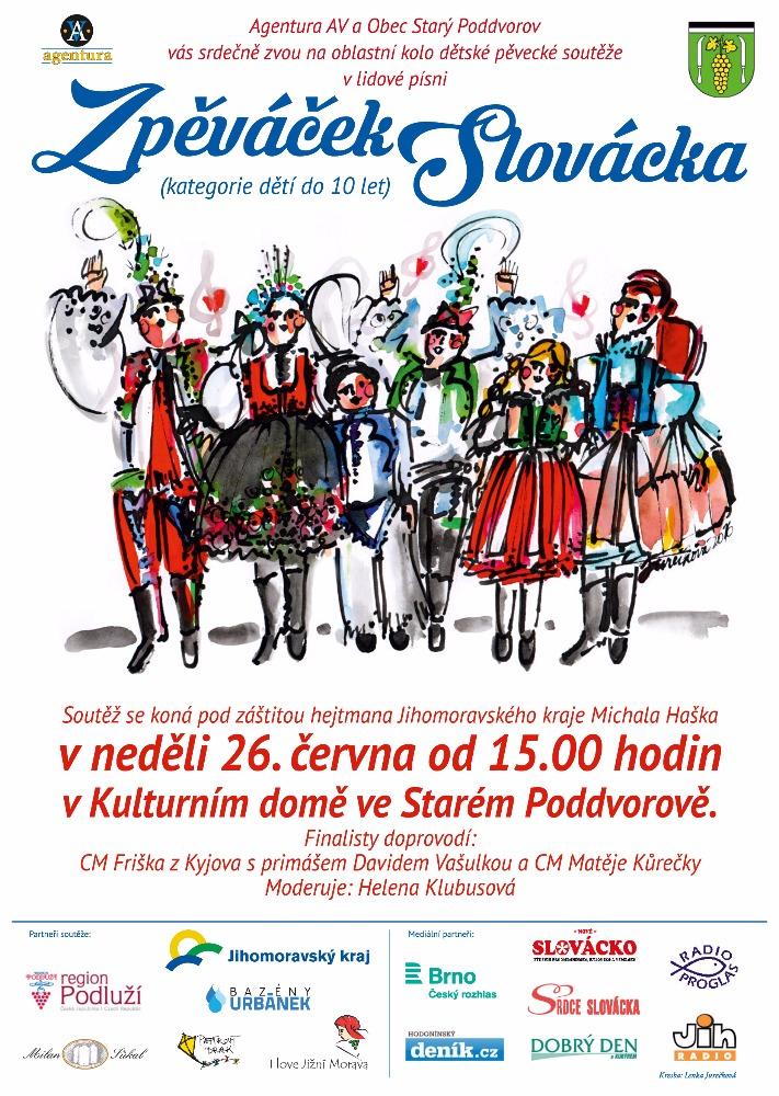 plakát-Zpěváček Slovácka