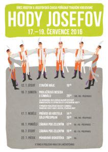 Plakát hody Josefov 2016